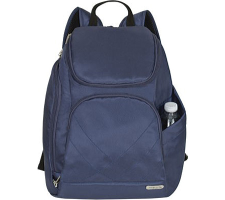 Travelon Anti-Theft Classic Backpack, Midnight Blue, large, image 1