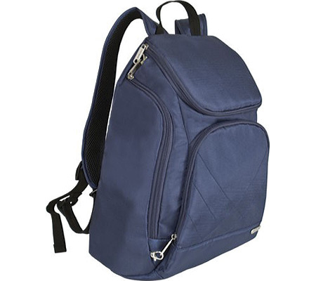Travelon Anti-Theft Classic Backpack, Midnight Blue, large, image 3