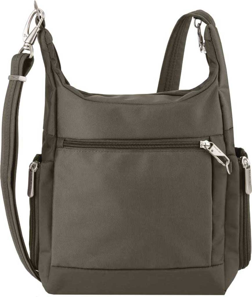 Travelon Anti-Theft Classic Messenger Bag, Nutmeg, large, image 2