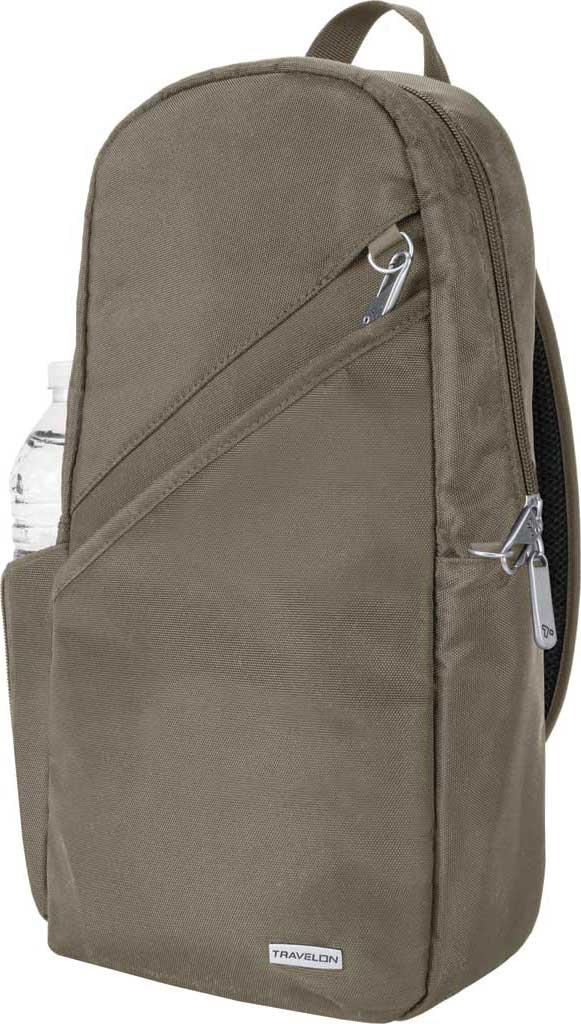 Travelon Anti-Theft Classic Sling Bag, Nutmeg, large, image 1
