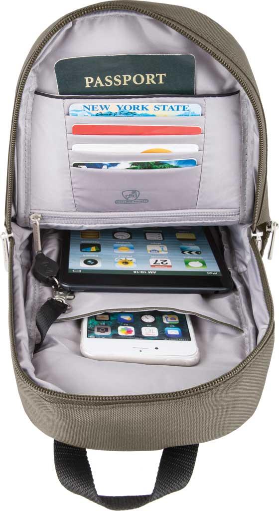Travelon Anti-Theft Classic Sling Bag, Nutmeg, large, image 3