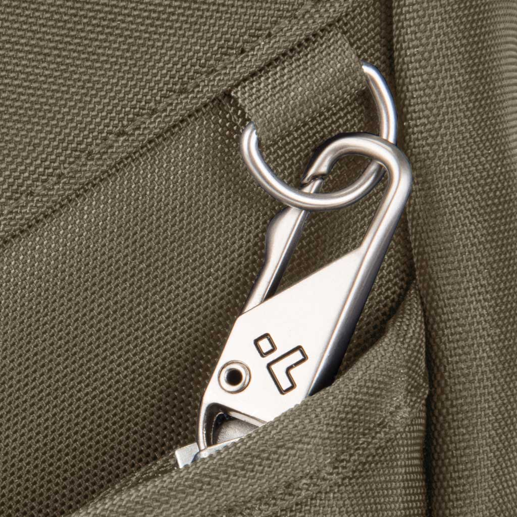 Travelon Anti-Theft Classic Sling Bag, Nutmeg, large, image 4