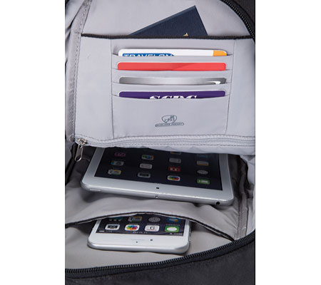 Travelon Anti-Theft Classic Sling Bag, Midnight, large, image 2
