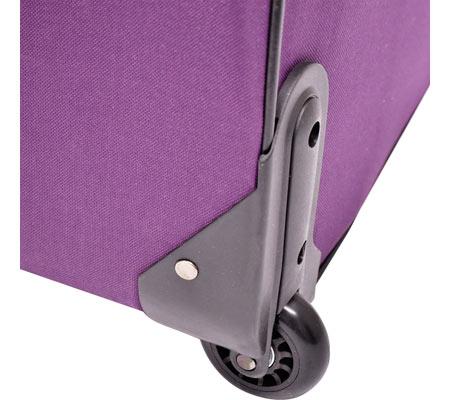 Traveler's Choice Versatile 5-Piece Luggage Set, Purple, large, image 4