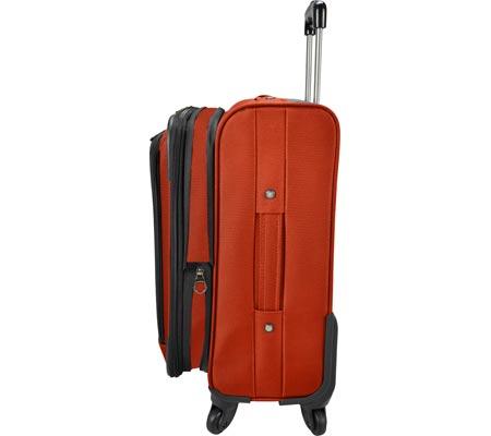 "Traveler's Choice Merced Lightweight 22"" Spinner Luggage, Orange, large, image 2"