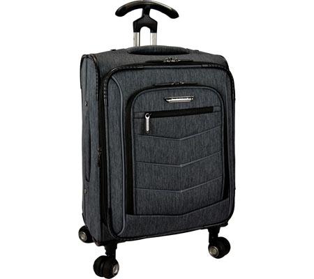 """Traveler's Choice Silverwood 21"""" Softside Spinner Luggage, Grey, large, image 1"""