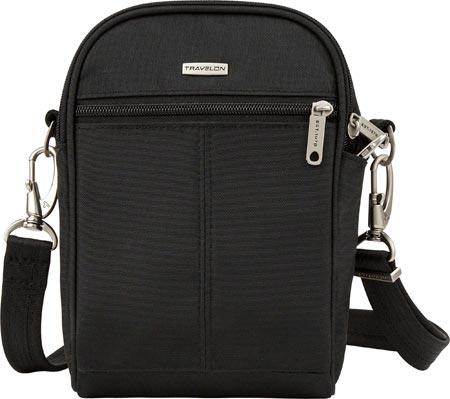 Travelon Anti-Theft Classic Convertible Small Tour Bag, Black, large, image 1