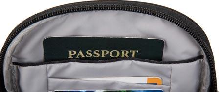 Travelon Anti-Theft Classic Convertible Small Tour Bag, Black, large, image 3