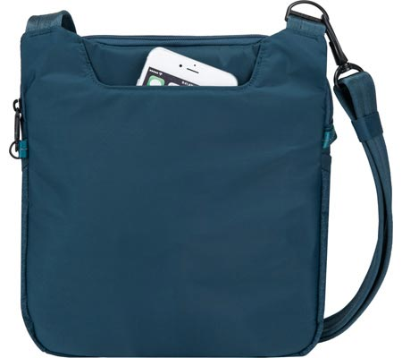 Travelon Anti-Theft Active Small Crossbody, Teal, large, image 2