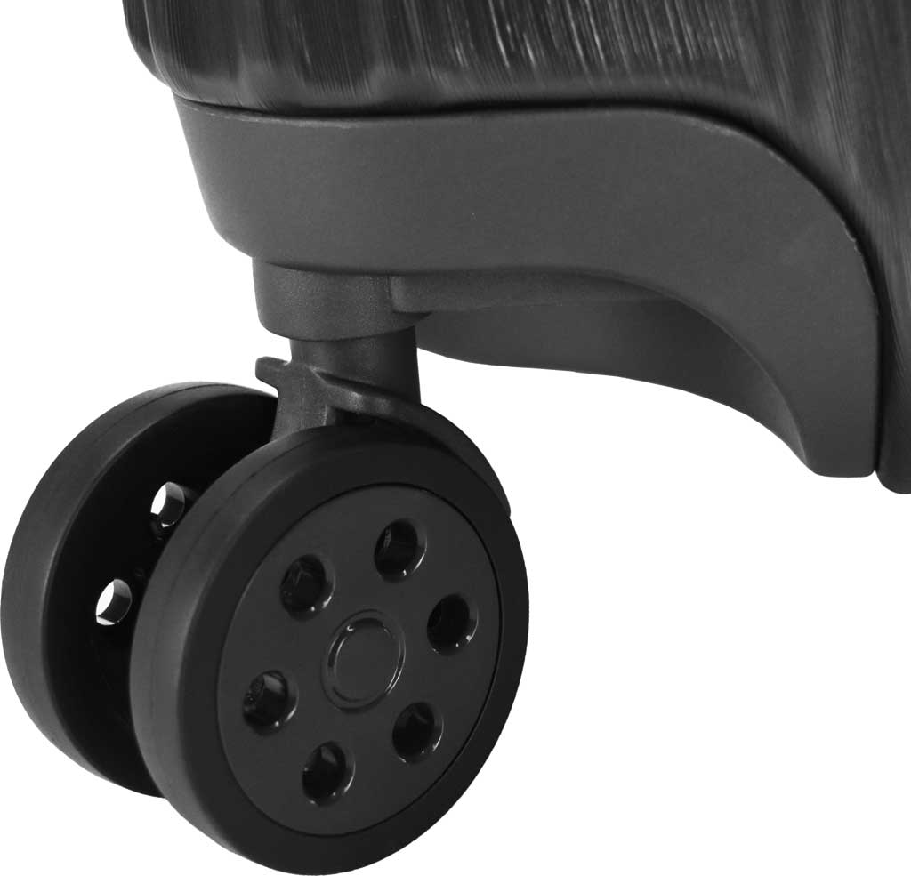 """Traveler's Choice Bell Weather Expandable 24"""" Spinner, Black, large, image 7"""