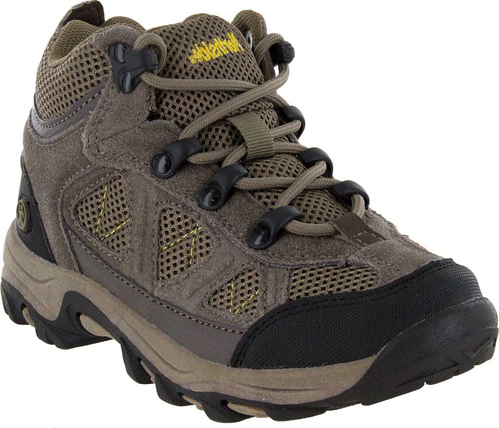 Children's Northside Footwear Caldera Junior Hiking Shoe, Stone/Yellow Suede, large, image 1