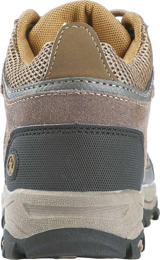 Boys' Northside Footwear Caldera Junior Leather Hiking Shoe, Stone/Yellow Suede/Mesh, large, image 3
