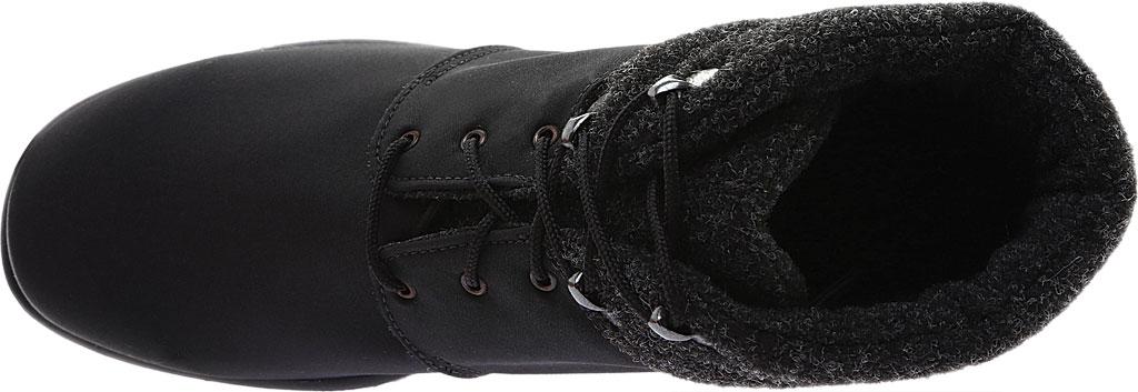 Women's Toe Warmers Trek Waterproof Ankle Boot, Black/Black, large, image 5
