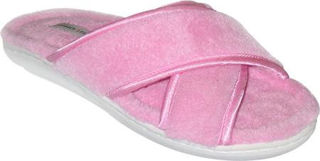 Women's Tender Tootsies Sharon Slipper (2 Pairs), Pink, large, image 1