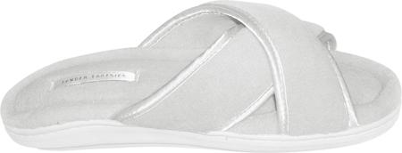 Women's Tender Tootsies Sharon Slipper (2 Pairs), White, large, image 2