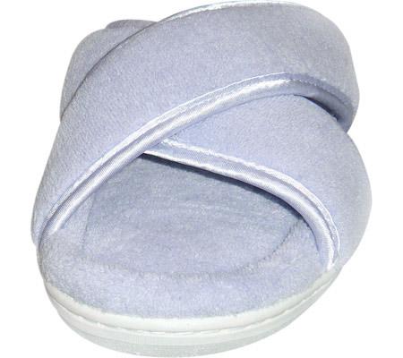 Women's Tender Tootsies Sharon Slipper (2 Pairs), Light Blue, large, image 4