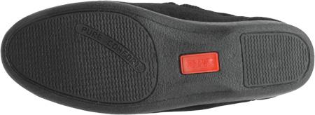 Women's Toe Warmers Closed Back Slipper, Black, large, image 6