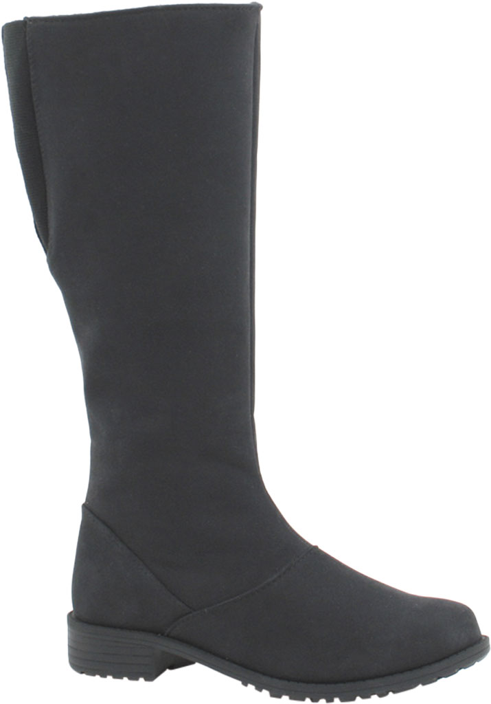 Women's Toe Warmers Runa Arctic Grip Tall Boot, Black Textile, large, image 1