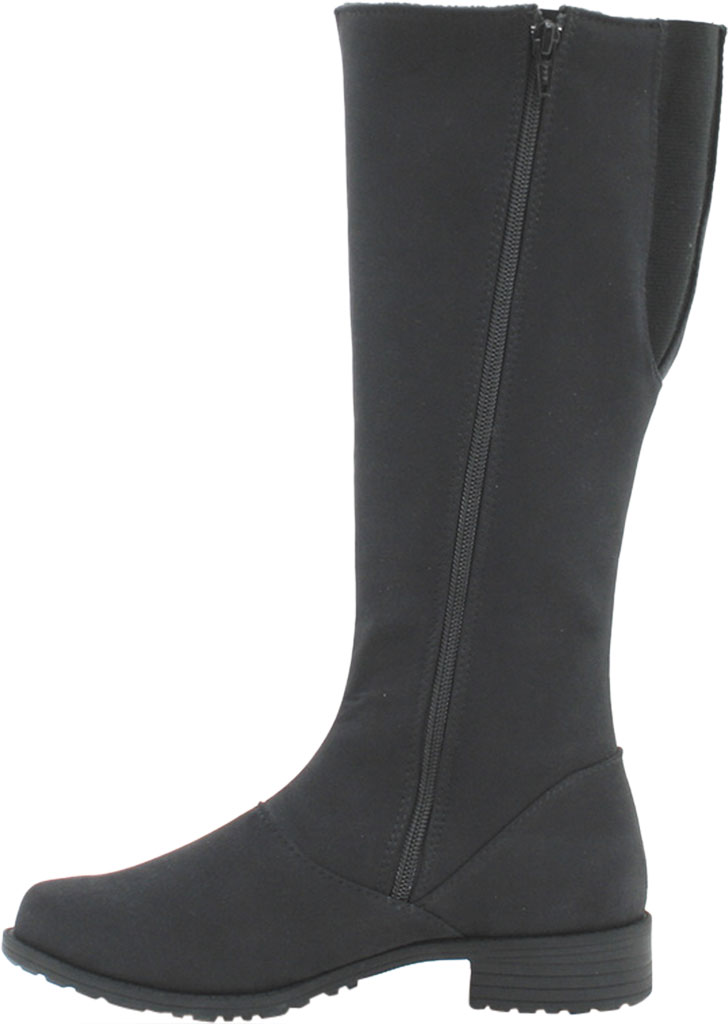 Women's Toe Warmers Runa Arctic Grip Tall Boot, Black Textile, large, image 2