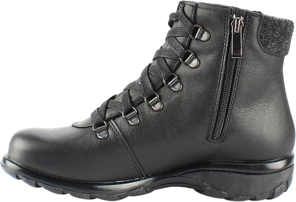 Women's Toe Warmers Yukon Waterproof Ankle Boot, Black Leather, large, image 2
