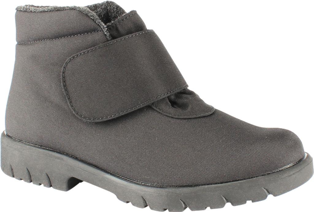 Men's Toe Warmers Hike Waterproof Ankle Boot, Black Polyurethane, large, image 1