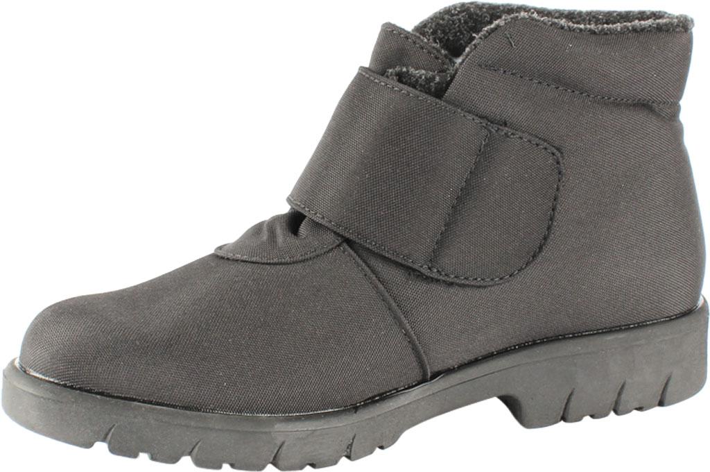 Men's Toe Warmers Hike Waterproof Ankle Boot, Black Polyurethane, large, image 2