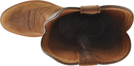 Men's Twisted X MCW0002, Distressed Saddle/Denim Leather, large, image 5