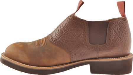 Men's Twisted X MCD0002, Distressed Saddle/Chocolate Oiled Shoulder Leather, large, image 3