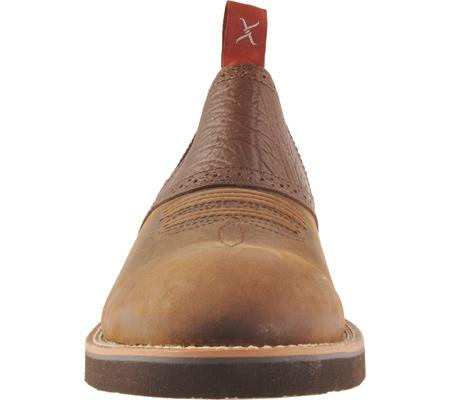 Men's Twisted X MCD0002, Distressed Saddle/Chocolate Oiled Shoulder Leather, large, image 4