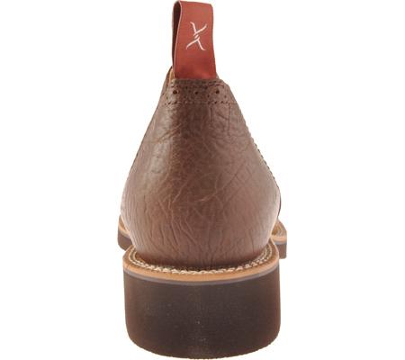 Men's Twisted X MCD0002, Distressed Saddle/Chocolate Oiled Shoulder Leather, large, image 5
