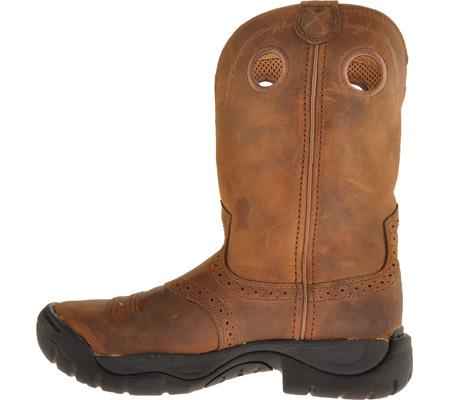 Women's Twisted X WAB0001, Distressed Saddle/Distressed Leather, large, image 3