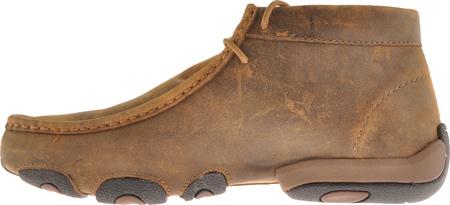 Men's Twisted X MDM0003 Driving Moc, Bomber Leather, large, image 3