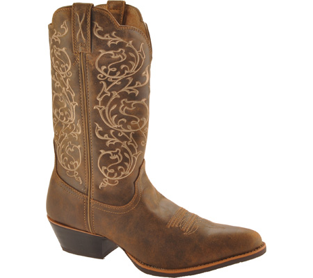 """Women's Twisted X Western 12"""" R Toe Cowgirl Boot, Bomber/Bomber, large, image 1"""