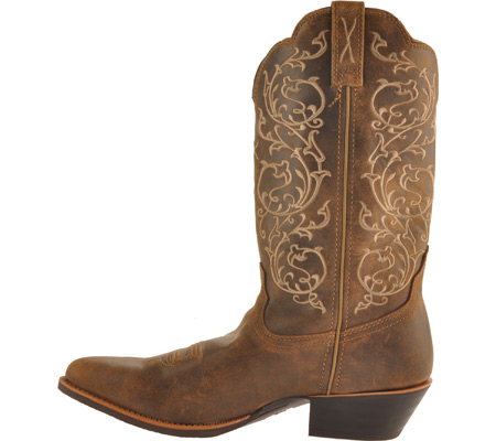 """Women's Twisted X Western 12"""" R Toe Cowgirl Boot, Bomber/Bomber, large, image 3"""