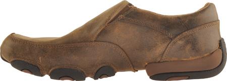 Men's Twisted X MDMS001 Leather Slip-On Driving Moc, Bomber, large, image 3