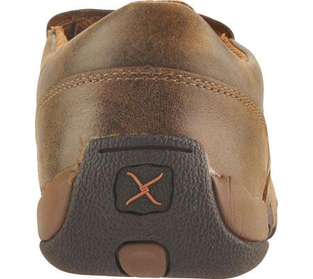 Men's Twisted X MDMS001 Leather Slip-On Driving Moc, Bomber, large, image 5