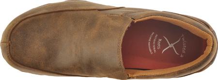 Men's Twisted X MDMS001 Leather Slip-On Driving Moc, Bomber, large, image 6