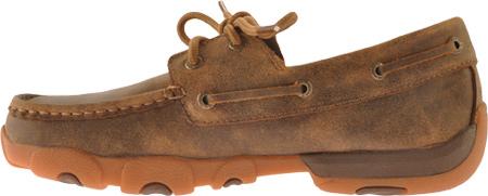 Men's Twisted X MDM0009, Bomber Leather, large, image 3