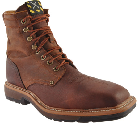 Men's Twisted X MLCSLW1, Oiled Brown/Rust Leather, large, image 1
