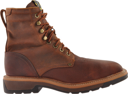 Men's Twisted X MLCSLW1, Oiled Brown/Rust Leather, large, image 2