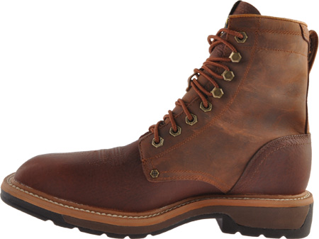 Men's Twisted X MLCSLW1, Oiled Brown/Rust Leather, large, image 3