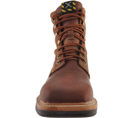 Men's Twisted X MLCSLW1, Oiled Brown/Rust Leather, large, image 4