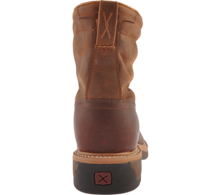 Men's Twisted X MLCSLW1, Oiled Brown/Rust Leather, large, image 5