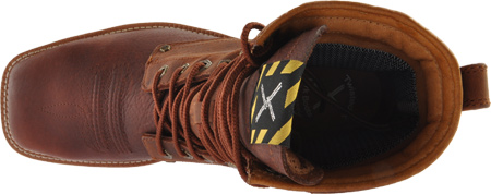 Men's Twisted X MLCSLW1, Oiled Brown/Rust Leather, large, image 6