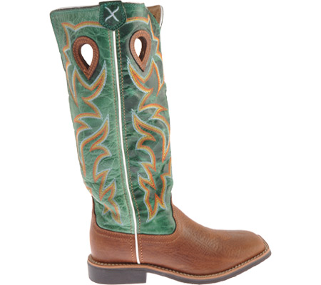Children's Twisted X YBK0005, Cognac/Turquoise Leather, large, image 2