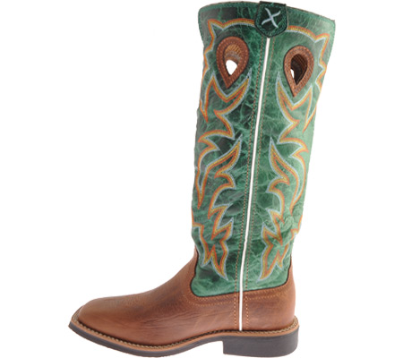 Children's Twisted X YBK0005, Cognac/Turquoise Leather, large, image 3