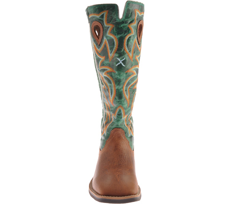 Children's Twisted X YBK0005, Cognac/Turquoise Leather, large, image 4