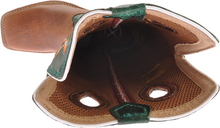 Children's Twisted X YBK0005, Cognac/Turquoise Leather, large, image 6