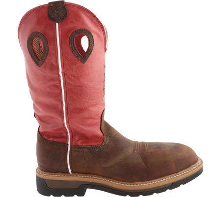 Men's Twisted X MLCCW01, Distressed Latigo/Red Leather, large, image 2