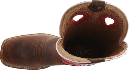 Men's Twisted X MLCCW01, Distressed Latigo/Red Leather, large, image 5